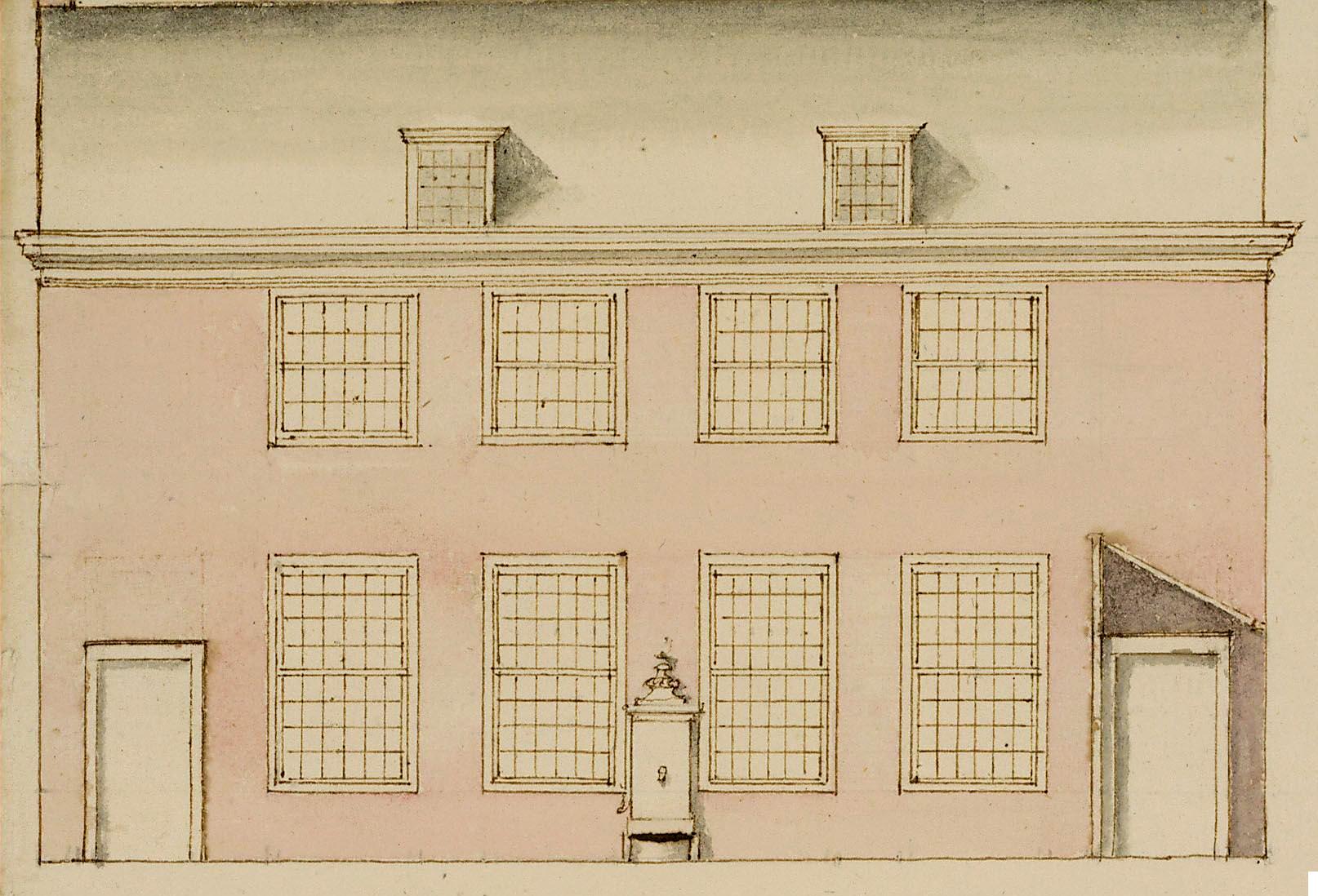 gevel weeshuishof 1796
